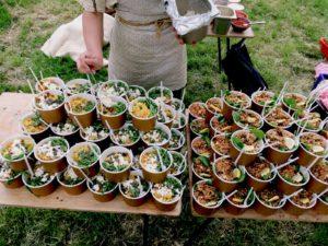 Maaltijdsalade foodtruck