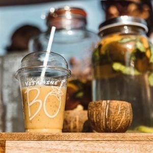 fruitige smoothie bij vitamine bo