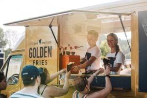 GoldenFries in de zomer
